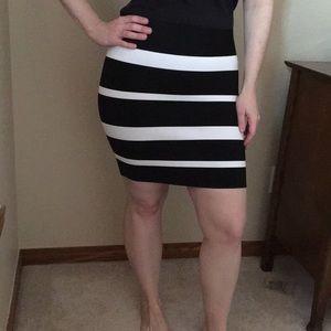 BCBGMaxAzria bandage style skirt